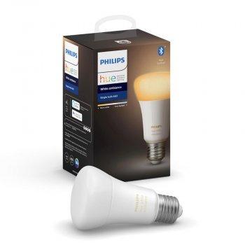 Philips Hue White (Bluetooth) Ambiance Single Bulb 9.5W A60 E27 หลอดไฟอัจฉริยะ