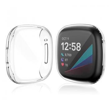 Fitbit Versa 3 / Sense - Protective Case (TSM Band) เคส TPU ป้องกันตัวเรือน/หน้าจอ (Premium)