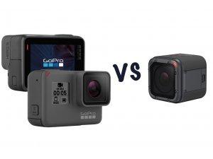 เปรียบเทียบกล้อง GoPro Hero5 Black กับ Hero5 Session