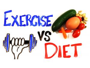 ความสำคัญระหว่าง การรับประทานอาหาร และการออกกำลังกาย