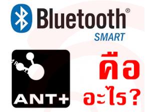 Bluetooth Smart กับ ANT+ ต่างกันอย่างไร?